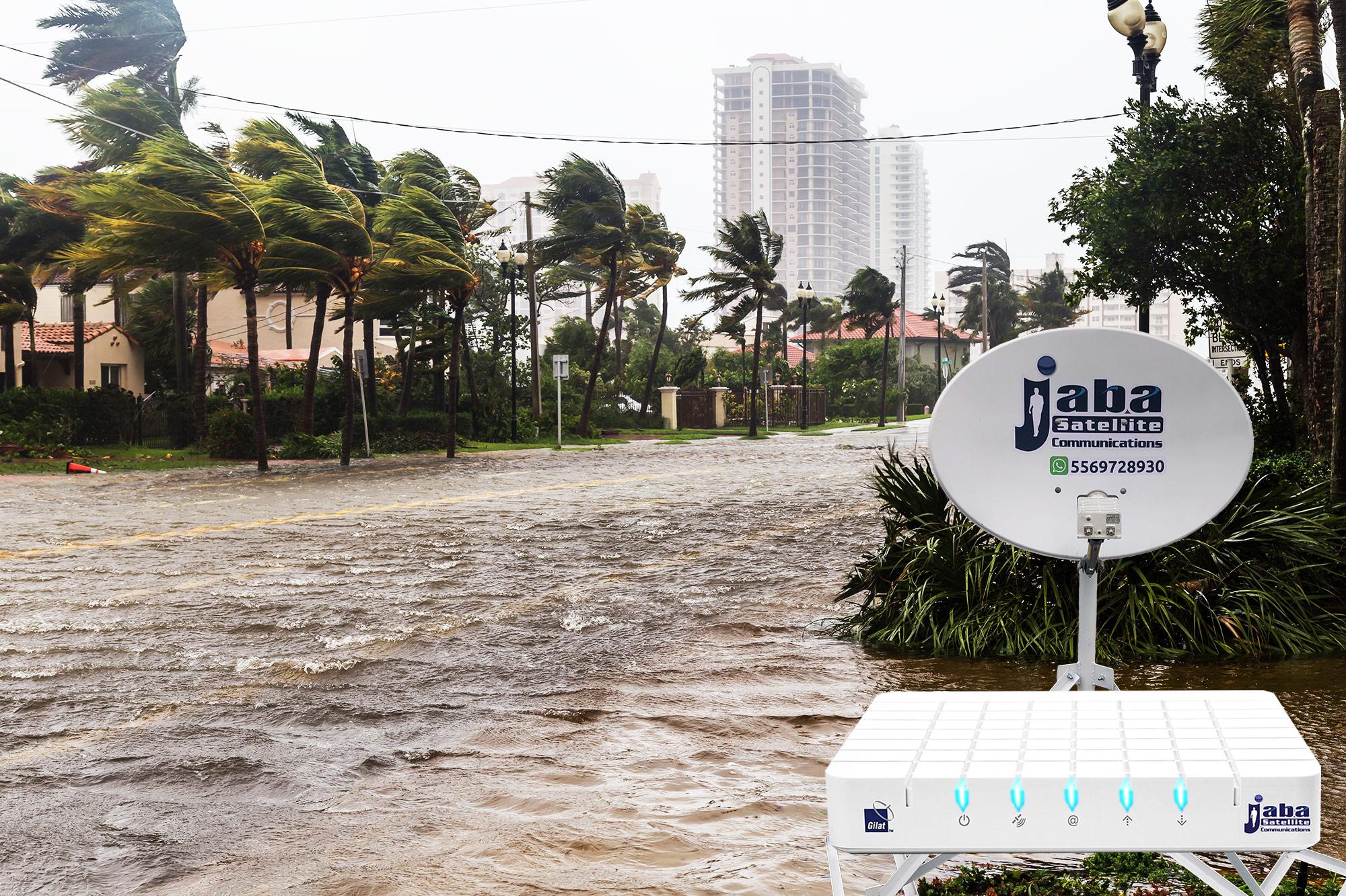 jabasat enlaces satelitales situciones criticas